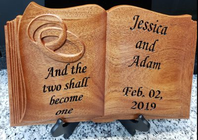 jessica wood wedding bible