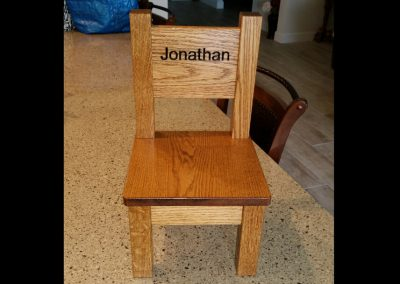 jon wooden chair