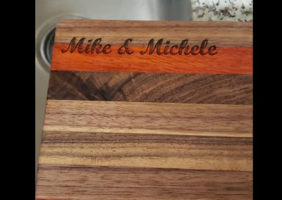laser cutting board