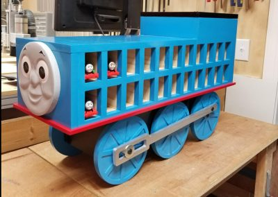 thomas train wood work