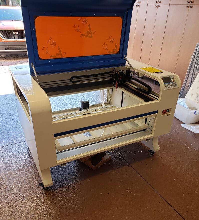 co2 laser engraving