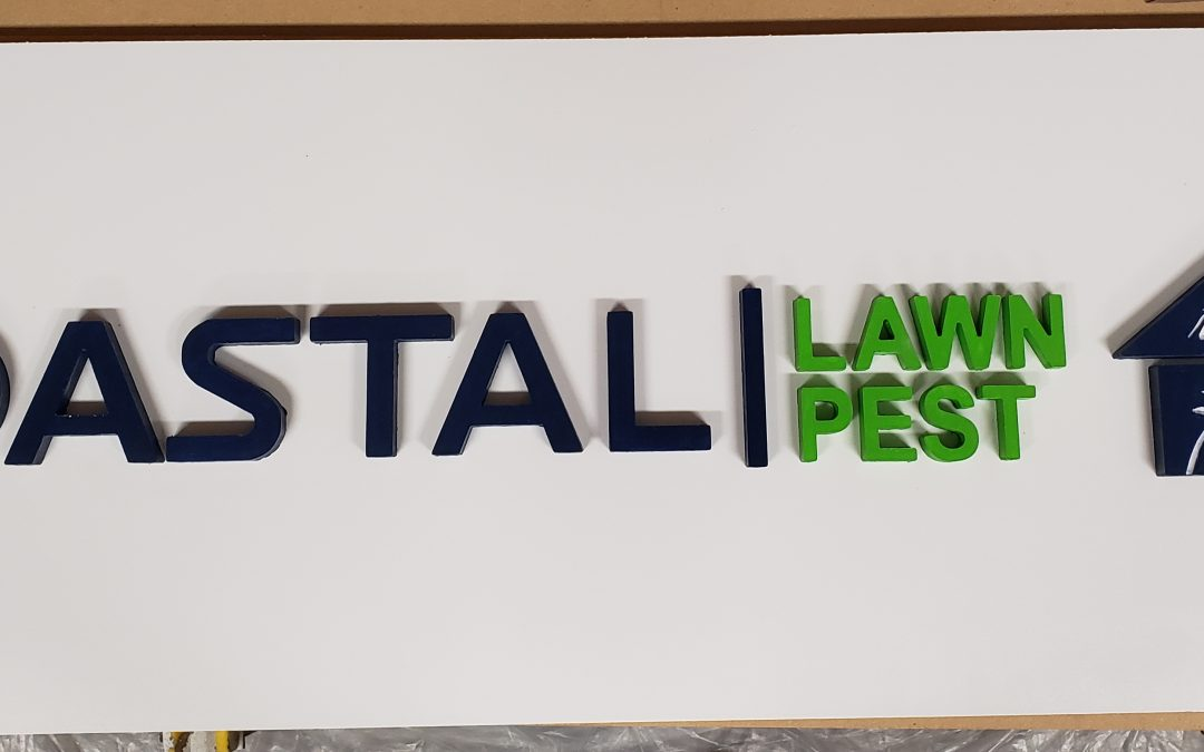 Local Business Sign 3-D